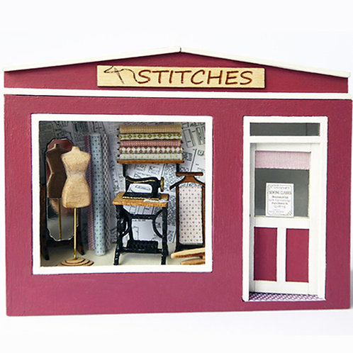 1/48th Scale Sewing Shop Kit