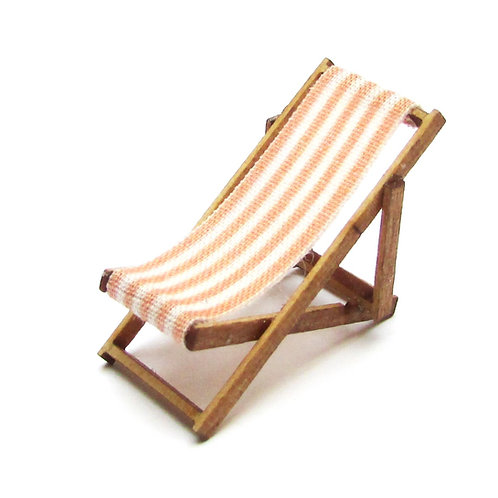 1/48th Scale Two Orange Deckchairs Kit
