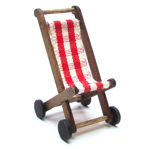 1/12th Scale Dolly's Pushchair Kit (Red)