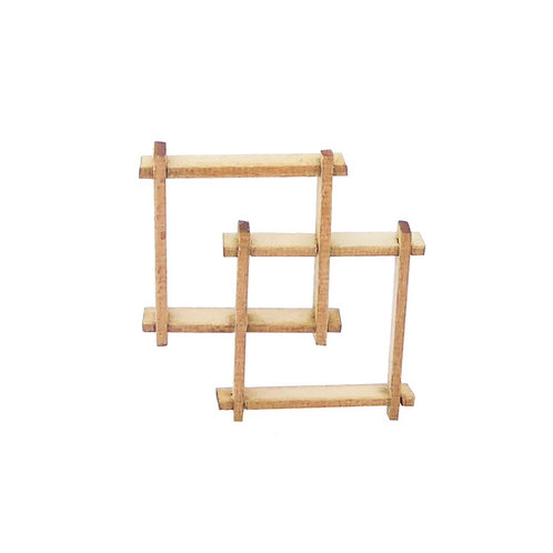 1/12th Scale Interlocking Shelves Kit