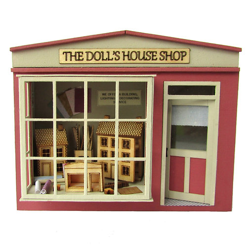 1/48th Scale Pocket Doll's House Shop Kit