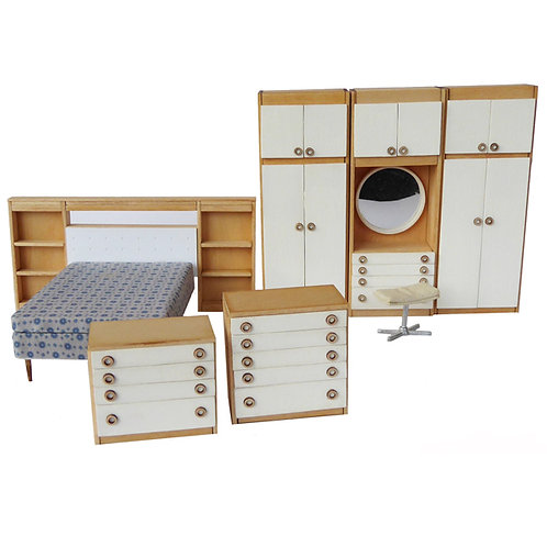 1/24th Scale Bedroom Set Kit