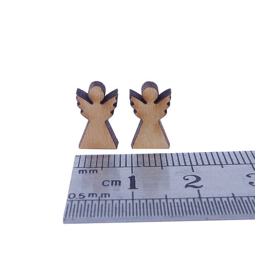 Large Wooden Angels (pack of 2)