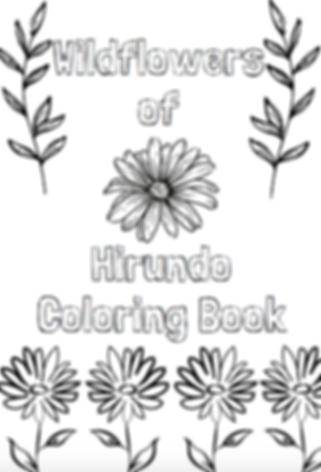 Hirundo Wildflower Coloring Book