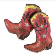 "Dancing Western Boots 32"""