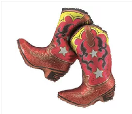Dancing Western Boots 32""