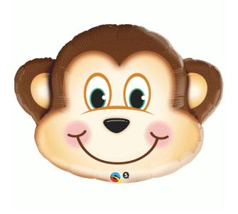 Cute Monkey Head