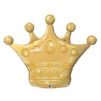 """32"""" Gold Celebratory Crown"""