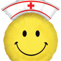 "34"" Nurse Emojhi Balloon"