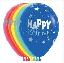 "11"" printed happy birthday"