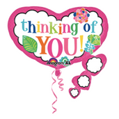 """26"""" Colorful thinking of you"""