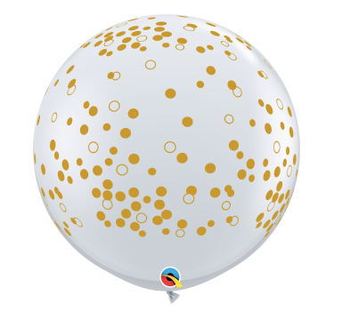 """32"""" Gold Speckles"""