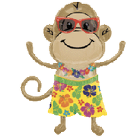 """Luau Monkey 36"""""""