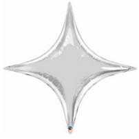 "20"" Silver Star Decorator"