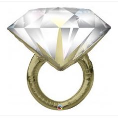 "36"" Diamond Ring"