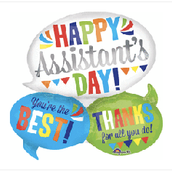 """27"""" Happy Assistants Day"""