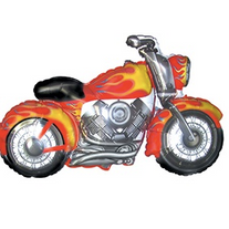 Motorcycle Flame