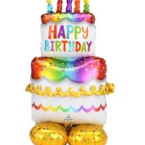 """53"""" Birthday Cake AirLoonz"""