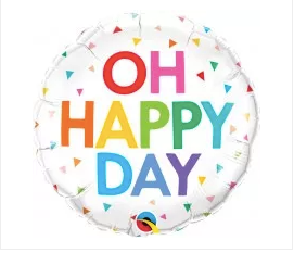 """18"""" Oh Happy Day!"""