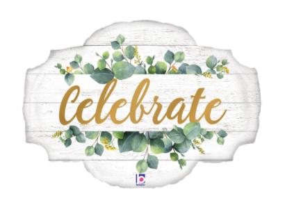 34_ Celebrate foil