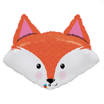 "Woodland Fox Head 32"""
