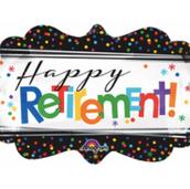 """27"""" Happy Retirement"""