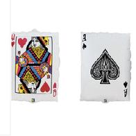 """Queen Hearts Ace Spades 34"""""""