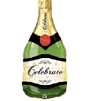 "36"" Celebrate Champagne bottle"