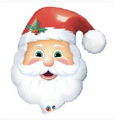 "Santa Head 32"""