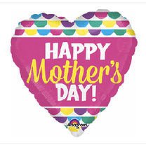 """Mothers Day Heart 22"""""""