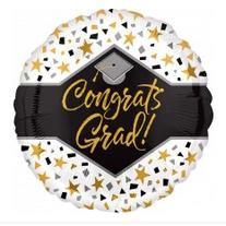 """18"""" Congrats Grad Speckles"""