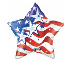 "Patriotic Star 18"""