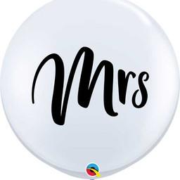 3FT MRS. wedding latex balloon.jpg