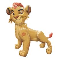 """54"""" Simba Lion King Airwalker.png"""