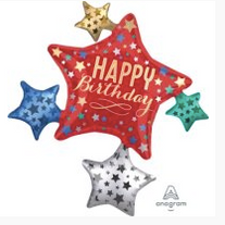 "32"" Birthday stars"