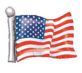 "26"" American Flag"