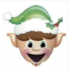 """Happy Elf 34"""""""