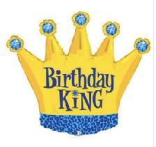 "Birthday King 36"""