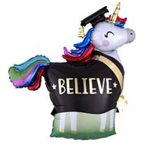 """40"""" Believe Unicorn"""