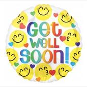 "18"" Get well soon emoji"