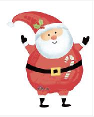 "Jolly Santa 20"""