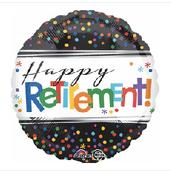 """18"""" Happy Retirement"""