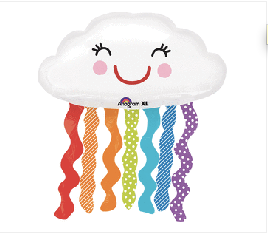Rainbow Cloud 32""