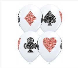 "Casino Printed 11"""
