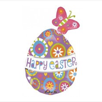 """Happy Easter 40"""""""