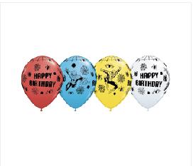 "Spiderman Happy Birthday 11"""