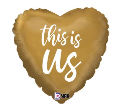 18_ gold this is us heart