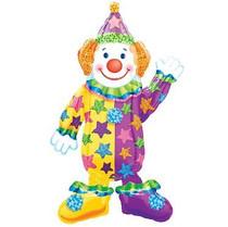 """Juggles the clown 42"""" airwalker"""