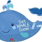 """Get Whale Soon 32"""" large"""