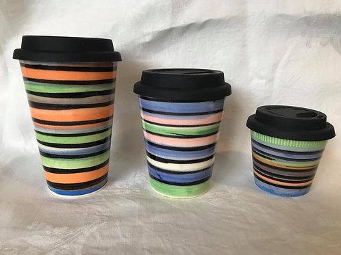 Licorice Allsorts Travel Mugs (Assorted Colours)